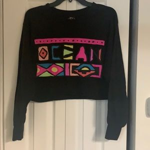 Cropped OP graphic tee